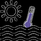 diferenční termostat je bezkonkurenčně nejlepší volbou kregulaci solárního ohřevu bazénu afiltrace zapoužití dvou okruhů.
